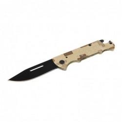 Couteau de poche pliable à...