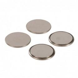 Lot de 4 piles bouton lithium