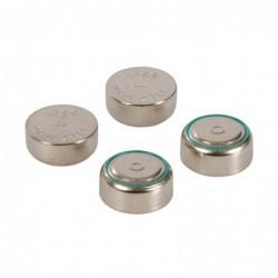 Piles bouton alcalines  4 pcs