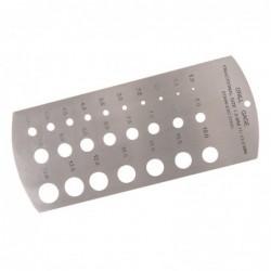 Calibre à forets  1-13 mm