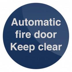 Pancarte « Automatic Fire...