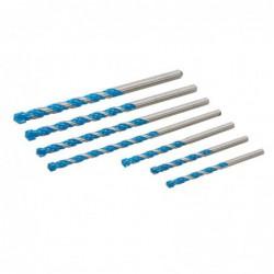 Forets multi-matériaux 7 pcs
