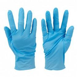 100 gants nitrile non...