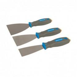 Jeu de 3 couteaux à enduire...