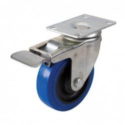 Roulette bleue en...