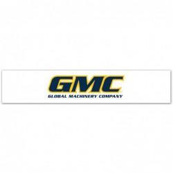 Fronton de gondole GMC 1000 mm