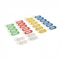 Porte-clés à étiquettes de...